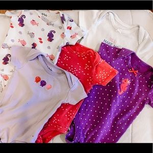 Pekkle Onesies- Size 6 Months